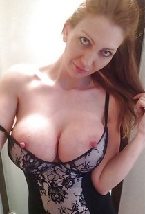Incredible rookie selfshot photo featuring fabulous milf.