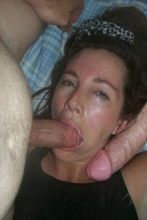 Now giving some great cock sucking to her boss, she looks so horny