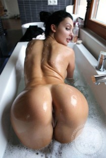 Sexy Ass in the Bathtub.